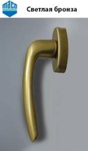 ручки для окон - svetlaya-bronza-mako