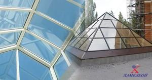 зенитные фонари пирамидальные