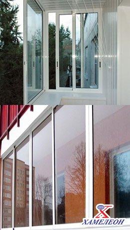 алюминиевое остекление балконов от парапета до верхней плиты перекрытия
