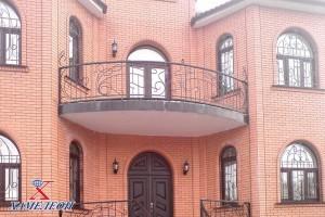 арочные окна вид с фасада