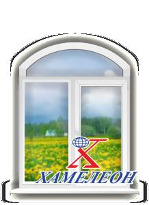 арочные окна лучковой формы
