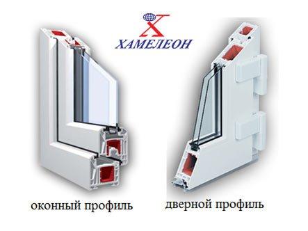 входные двери - сравнение ПВХ профиля дверного и оконного