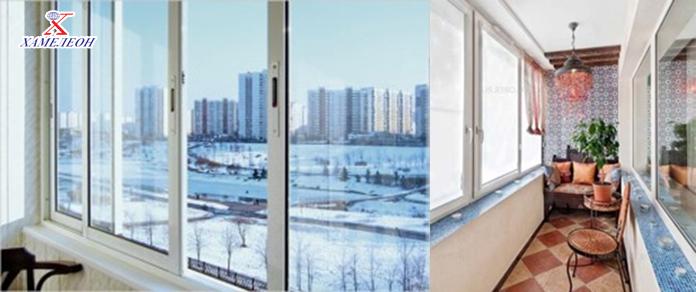 остекление балконов и лоджий - теплое и холодное