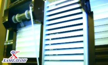Производство жалюзи, изготовление рольставней на заводе ХАМЕЛЕОН
