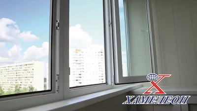 Теплое остекление балконов ПВХ окнами
