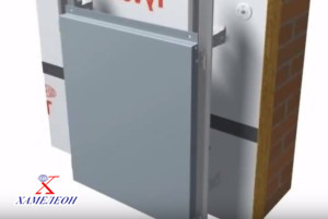 Фасадные металлоконструкции для вентилируемых фасадов