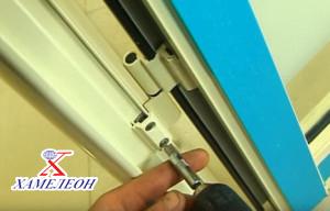 Монтаж алюминиевых конструкций дверей