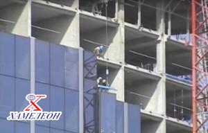 Монтаж алюминиевых конструкций фасадов