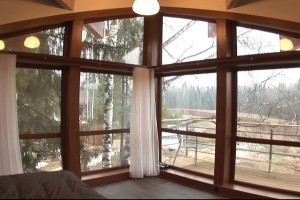 панорамные окна в индивидуальном доме